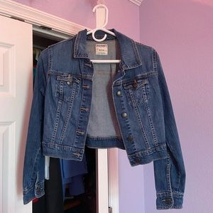 Old Navy Cropped Jean Jacket